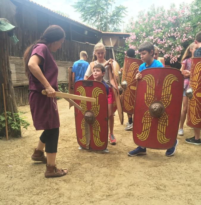 Gladiator school, Rome